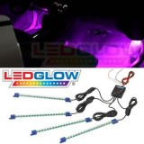 Pink Interior Underdash LED Lights by LEDGlow