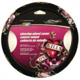 Ed Hardy Steering Wheel Cover with Love Kills Theme