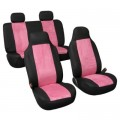 Pink Suede Seat Covers - Car, Tr...