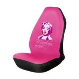 Pink Marilyn Monroe Seat Covers